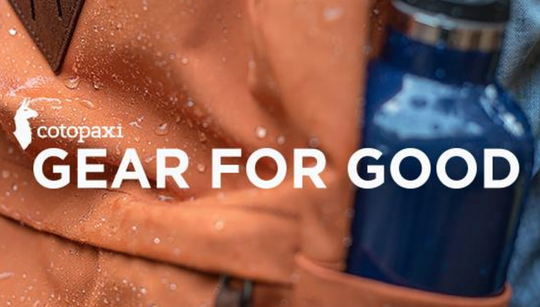Cotopaxi Gear for Good